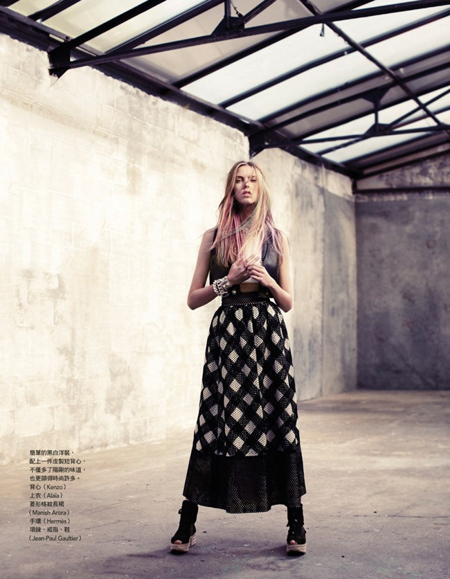 VOGUE TAIWAN- Josefien Rodermans in A Cool Girl by Naomi Yang. Lilly Marthe, December 2011, www.imageamplified.com, Image Amplified9