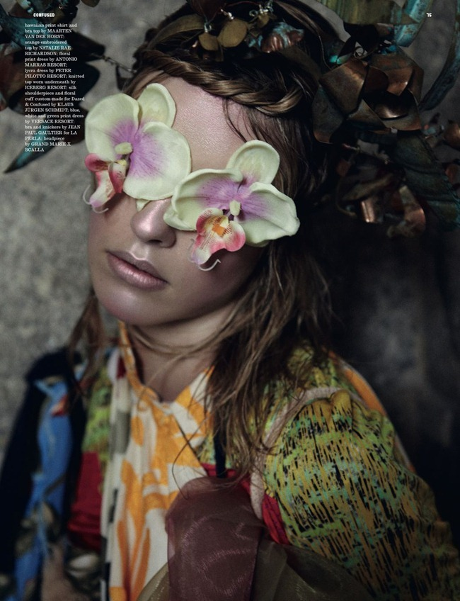 DAZED & CONFUSED MAGAZINE- Julia Frauche in Super Natural by Yelena Yemchuk. Karen Langley, January 2012, www.imageamplified.com, Image Amplified8