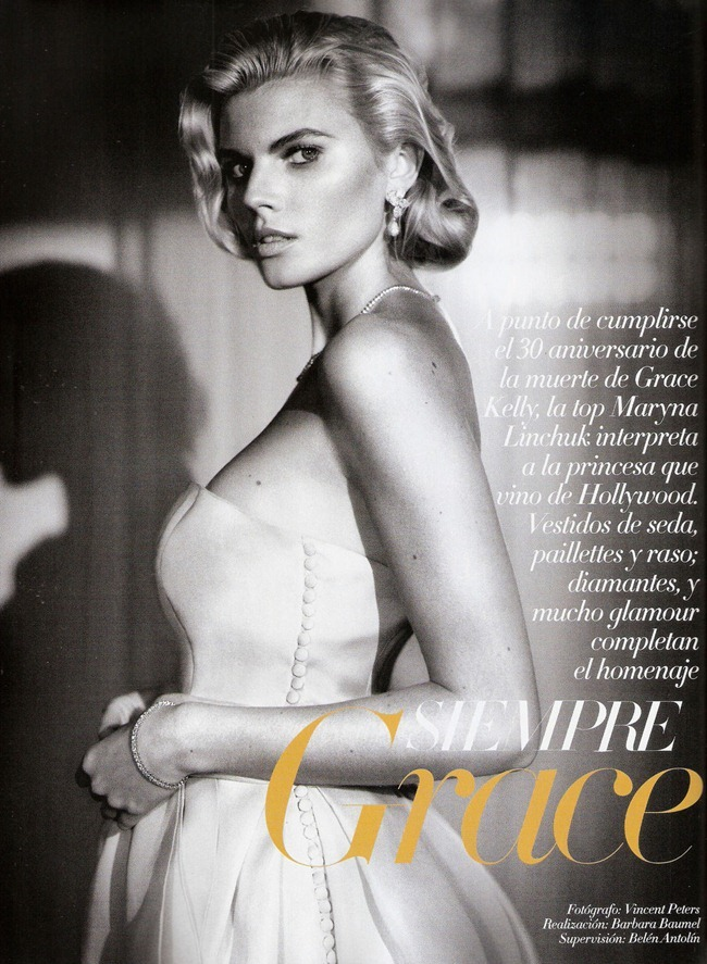 VOGUE SPAIN- Maryna Linchuk in Siempre Grace by Vincent Peters. Barbara Baumel, Belen Antolin, January 2012, www.imageamplified.com, Image Amplified9