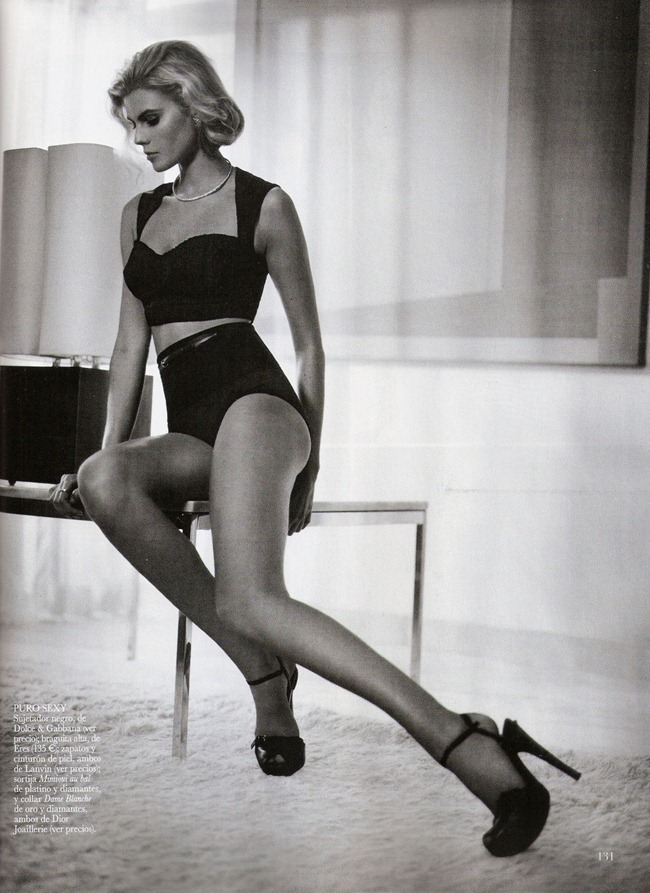 VOGUE SPAIN- Maryna Linchuk in Siempre Grace by Vincent Peters. Barbara Baumel, Belen Antolin, January 2012, www.imageamplified.com, Image Amplified2