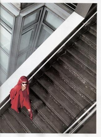 VOGUE SPAIN- Britt Maren in La mujer de rojo by Mark Seliger. Arianne Philips, Belen Antolin, January 2012, www.imageamplified.com, Image Amplified4
