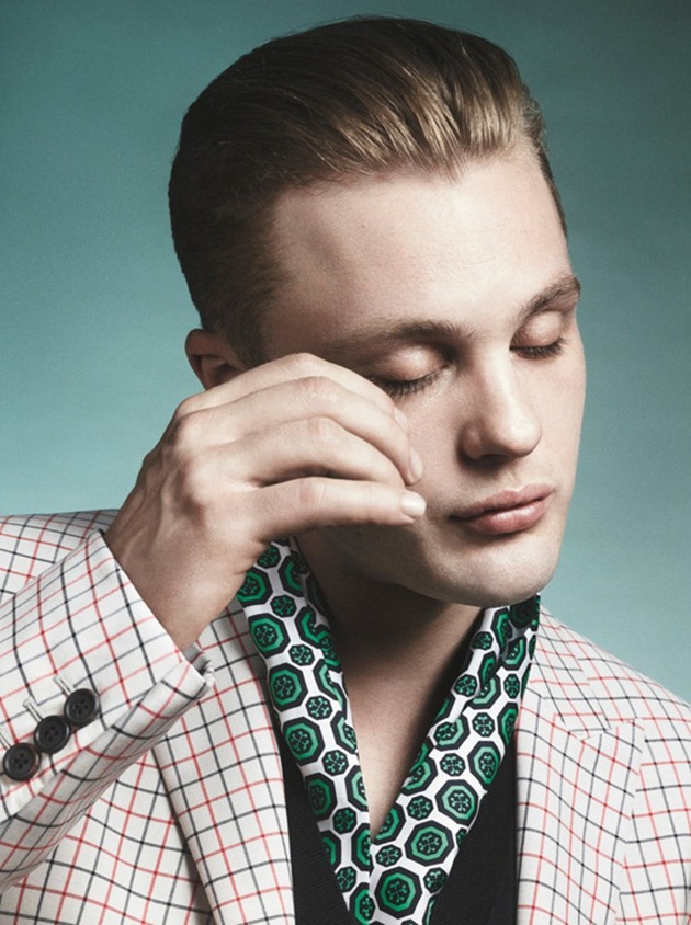 CAMPAIGN- Michael Pitt for Prada Spring 2012 by David Sims. www.imageamplified.com, Image Amplified