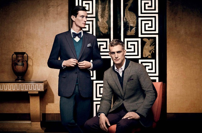 LOOKBOOK- Owen Steuart & Will Chalker for Kent & Curwen Fall 2012, www.imageamplified.com, Image Amplified5