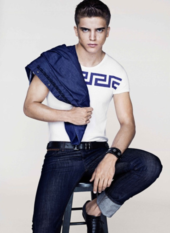 PREVIEW- River Viiperi for Versace for H&M Cruise 2012. www.imageamplified.com, Image Amplified0