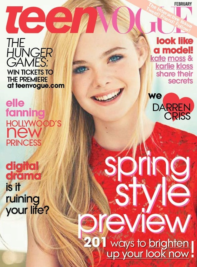 TEEN VOGUE- Elle Fanning by Sebastian Kim. February 2012, www.imageamplified.com, Image Amplified8