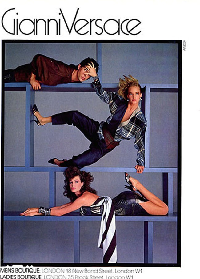 WE ♥ VERSACE- Janice Dickinson for Versace Spring 1984 by Richard Avedon. www.imageamplified.com, Image Amplified3