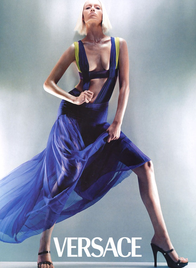WE ♥ VERSACE- Amber Valletta for Versace Spring 2003 by Steven Meisel. www.imageamplified.com, Image Amplified2