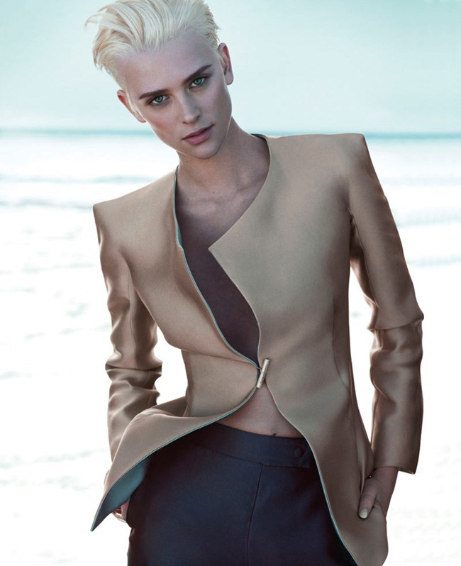 CAMPAIGN Milou van Groesen for Giorgio Armani Spring 2012 by Mert & Marcus. www.imageamplified.com, Image Amplified (1)