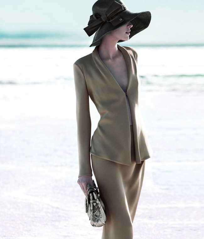 CAMPAIGN Milou van Groesen for Giorgio Armani Spring 2012 by Mert & Marcus. www.imageamplified.com, Image Amplified (3)