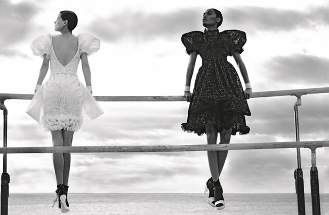 CAMPAIGN Saskia de Brauw & Joan Smalls for Chanel Spring 2012 by Karl Lagerfeld. www.imageamplified.com, Image Amplified (7)