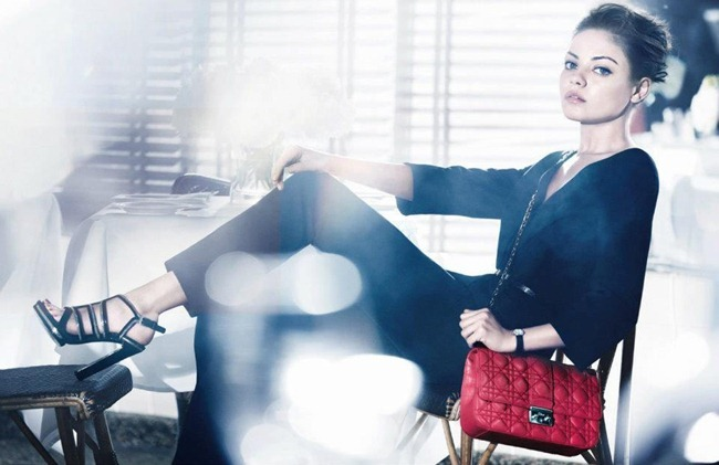 CAMPAIGN- Mila Kunis for Miss Dior Handbags Spring 2012 by Mikael Jansson. www.imageamplified.com, Image Amplified6
