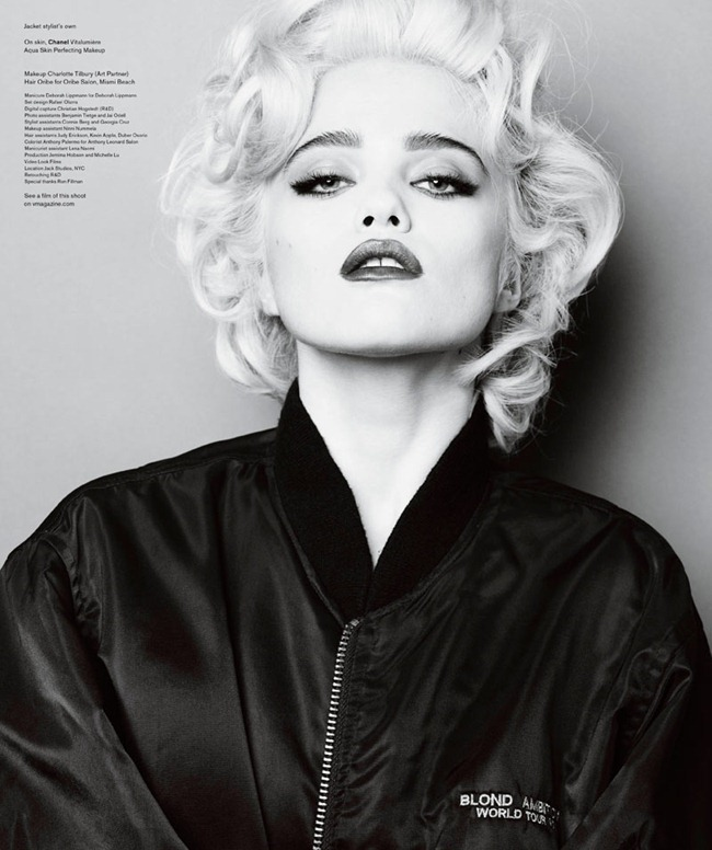 V MAGAZINE- Sky Ferreira in Who's That Girl by Mario Testino. Andrew Richardson, www.imageamplified.com, Image Amplified4