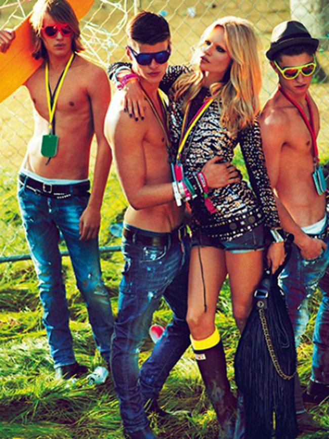 CAMPAIGN- Natasha Poly, Dimitry Tanner, Paolo Anchisi, Matt Woodhouse & Ton Heukels for DSquared2 by Mert & Marcus. www.imageamplified.com, Image Amplified2