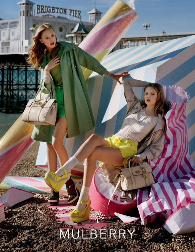 CAMPAIGN- Lindsey Wixson & Frida Gustavsson for Mulberry Spring 2012 by Tim Walker. Edward Enninful, www.imageamplified.com, Image Amplified3
