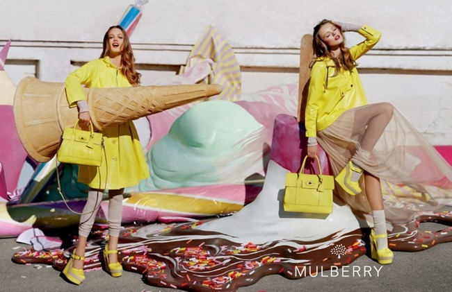 CAMPAIGN- Lindsey Wixson & Frida Gustavsson for Mulberry Spring 2012 by Tim Walker. Edward Enninful, www.imageamplified.com, Image Amplified4