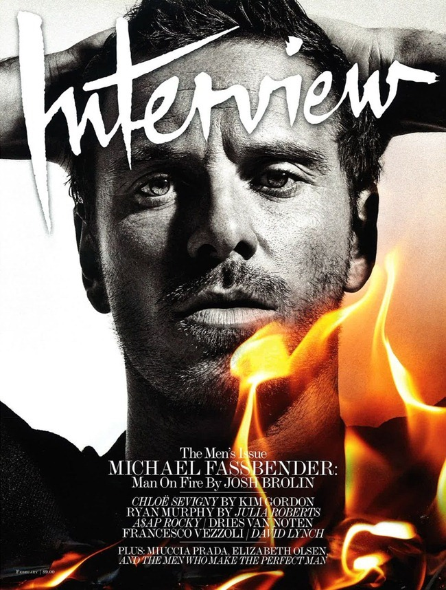 INTERVIEW MAGAZINE- Michael Fassbender by Sebastian Kim. Elin Svahn, February 2012, www.imageamplified.com, Image Amplified7