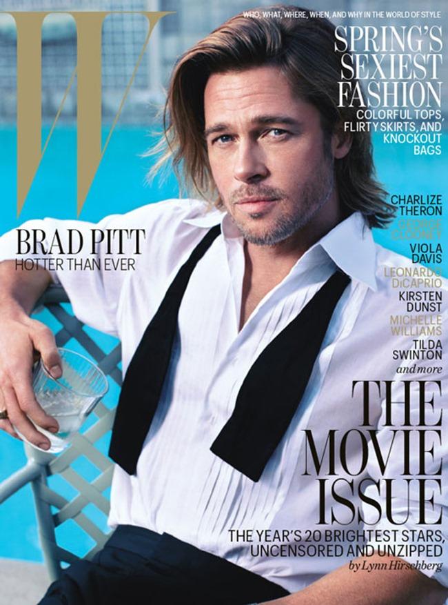 W MAGAZINE- Brad Pitt by Mario Sorrenti. Edward Wnninful, February 2012, www.imageamplified.com, Image Amplified4