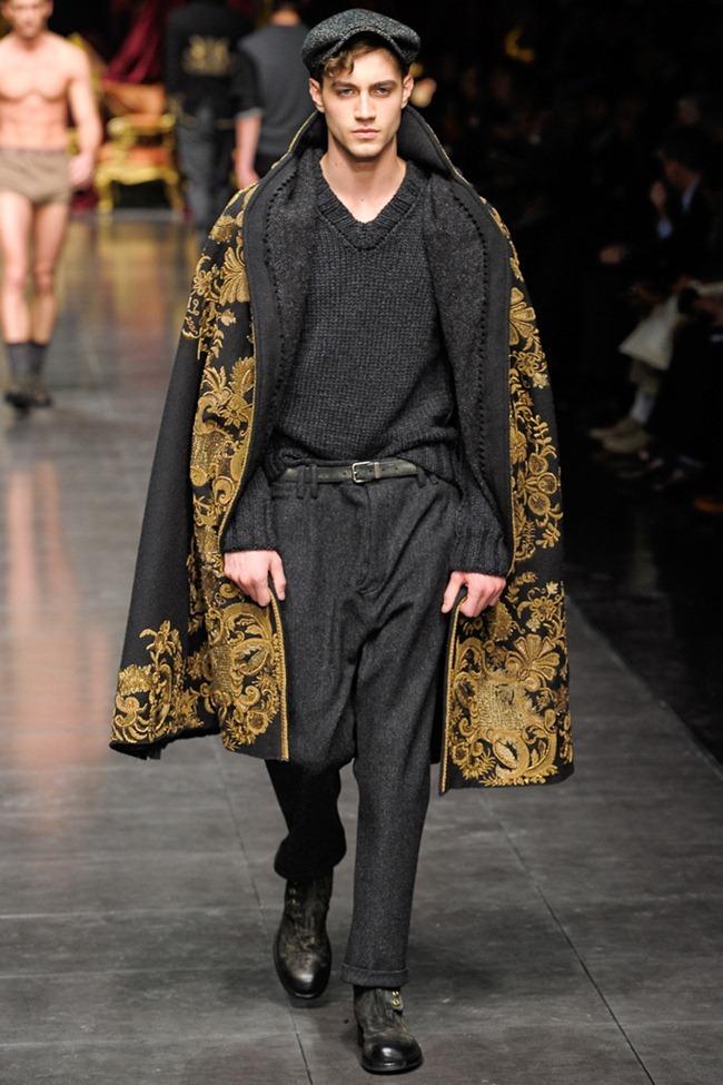 MILAN FASHION WEEK- Dolce & Gabbana Men's Fall 2012. www.imageamplified.com, Image Amplified6 (3)