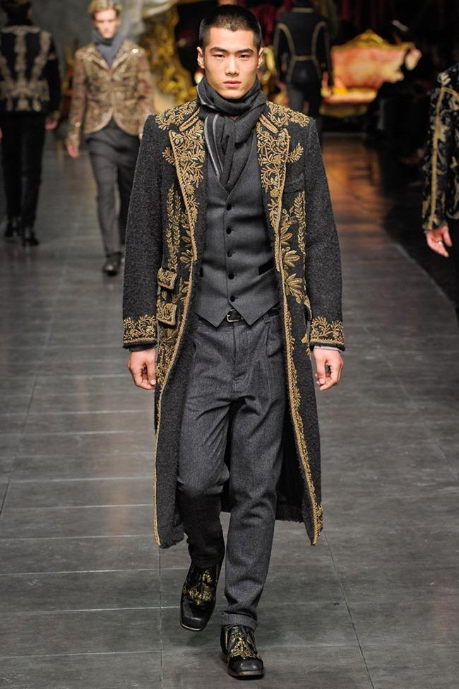 MILAN FASHION WEEK- Dolce & Gabbana Men's Fall 2012. www.imageamplified.com, Image Amplified3 (7)