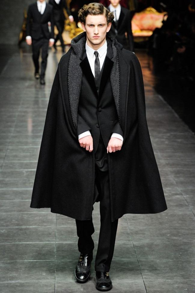 MILAN FASHION WEEK- Dolce & Gabbana Men's Fall 2012. www.imageamplified.com, Image Amplified3
