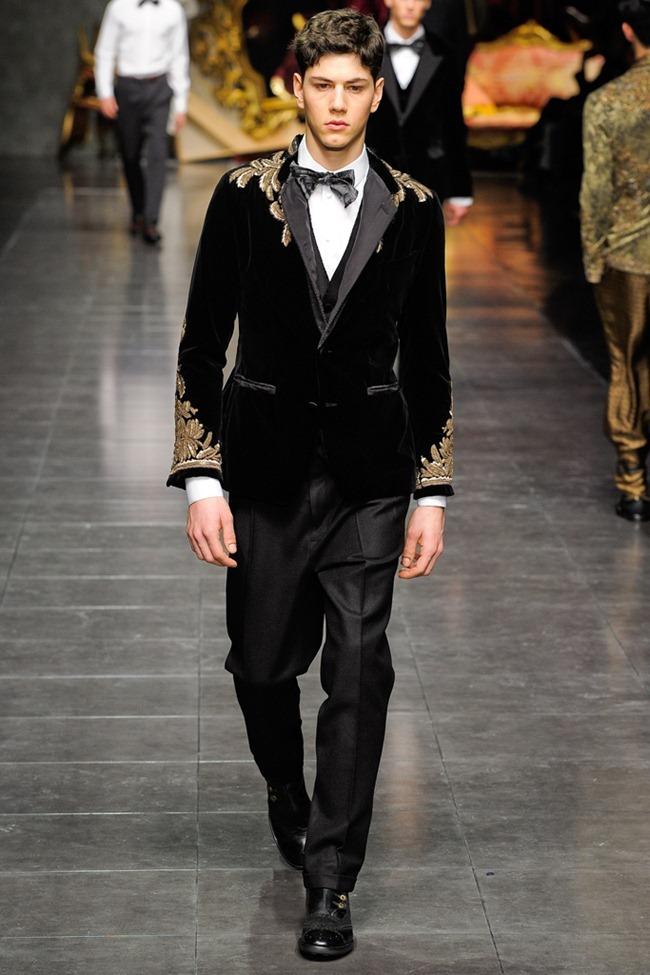 MILAN FASHION WEEK- Dolce & Gabbana Men's Fall 2012. www.imageamplified.com, Image Amplified0 (5)