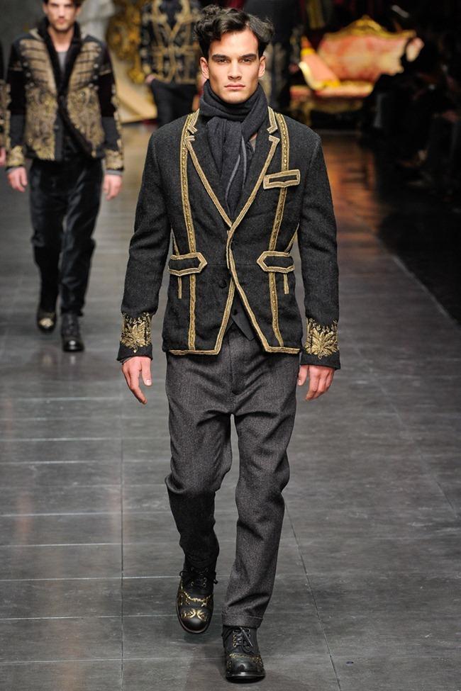 MILAN FASHION WEEK- Dolce & Gabbana Men's Fall 2012. www.imageamplified.com, Image Amplified0 (6)