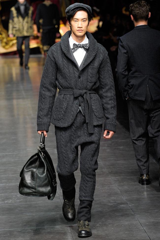 MILAN FASHION WEEK- Dolce & Gabbana Men's Fall 2012. www.imageamplified.com, Image Amplified3 (2)