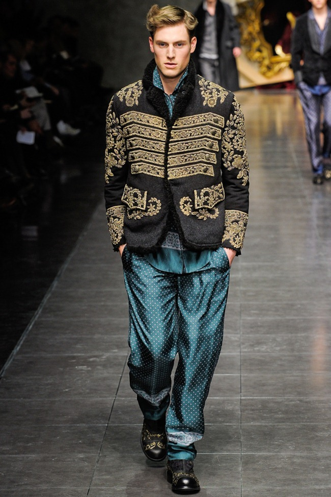 MILAN FASHION WEEK- Dolce & Gabbana Men's Fall 2012. www.imageamplified.com, Image Amplified3 (5)