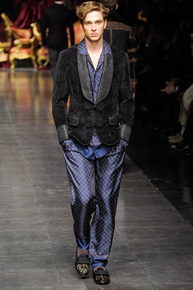 MILAN FASHION WEEK- Dolce & Gabbana Men's Fall 2012. www.imageamplified.com, Image Amplified4 (5)