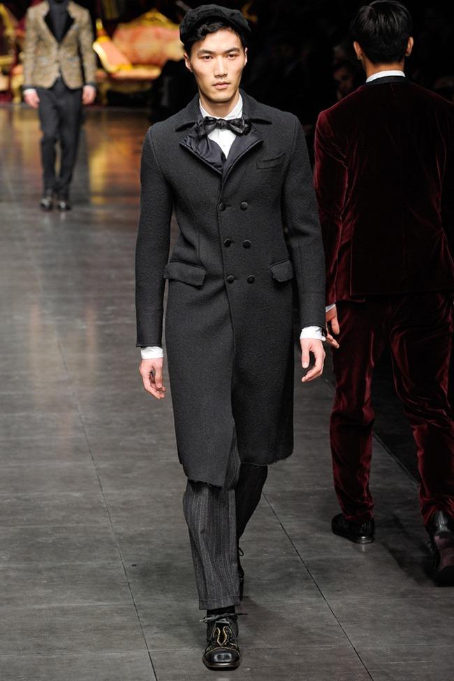 MILAN FASHION WEEK- Dolce & Gabbana Men's Fall 2012. www.imageamplified.com, Image Amplified4 (6)