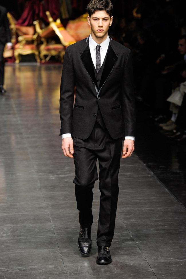 MILAN FASHION WEEK- Dolce & Gabbana Men's Fall 2012. www.imageamplified.com, Image Amplified4