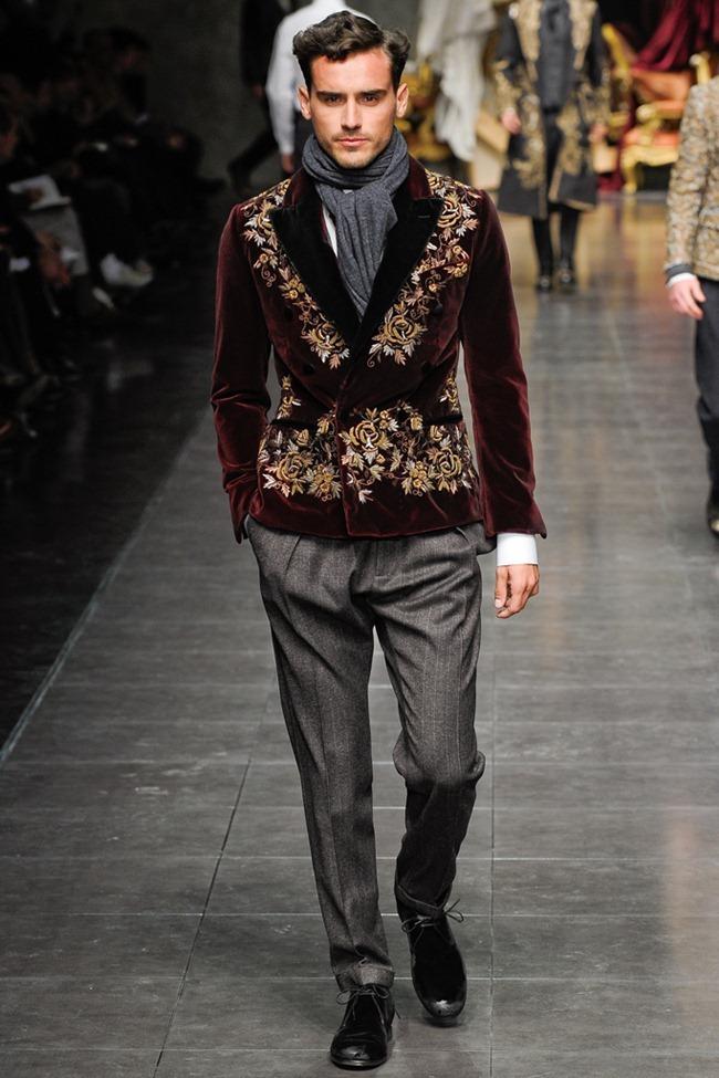 MILAN FASHION WEEK- Dolce & Gabbana Men's Fall 2012. www.imageamplified.com, Image Amplified5 (6)