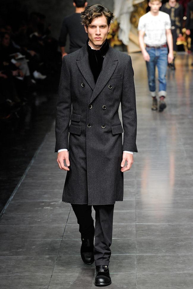 MILAN FASHION WEEK- Dolce & Gabbana Men's Fall 2012. www.imageamplified.com, Image Amplified8 (1)