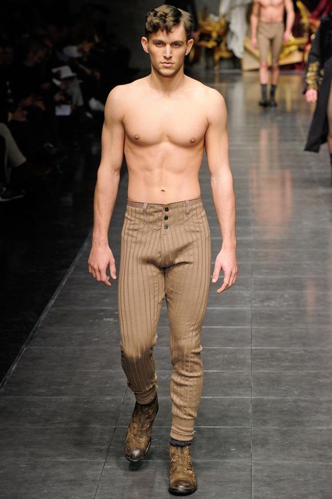 MILAN FASHION WEEK- Dolce & Gabbana Men's Fall 2012. www.imageamplified.com, Image Amplified8 (3)