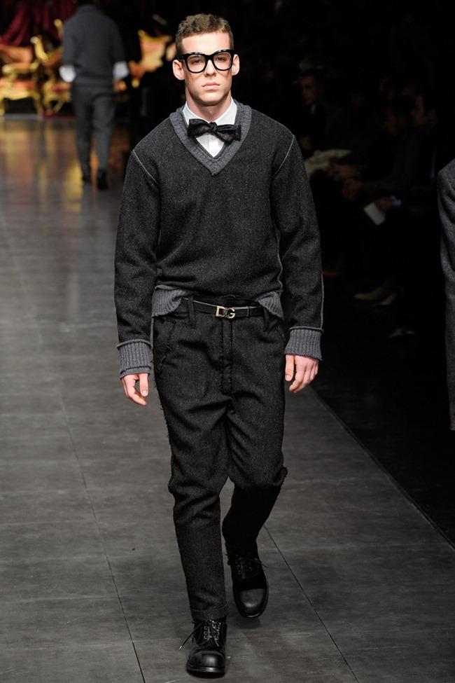 MILAN FASHION WEEK- Dolce & Gabbana Men's Fall 2012. www.imageamplified.com, Image Amplified9 (2)