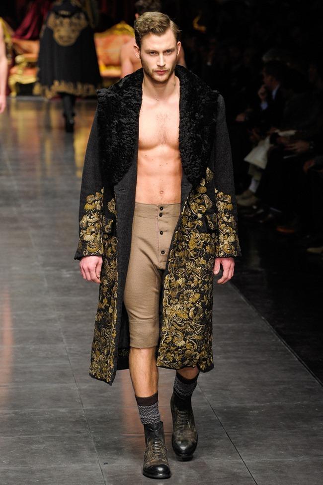 MILAN FASHION WEEK- Dolce & Gabbana Men's Fall 2012. www.imageamplified.com, Image Amplified9 (3)