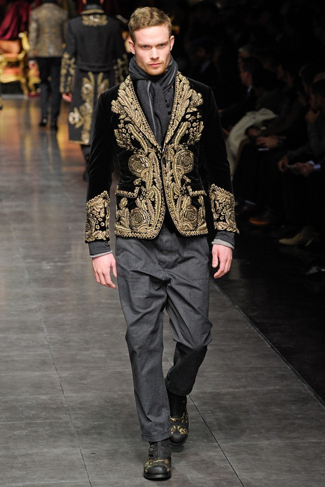MILAN FASHION WEEK- Dolce & Gabbana Men's Fall 2012. www.imageamplified.com, Image Amplified9 (6)