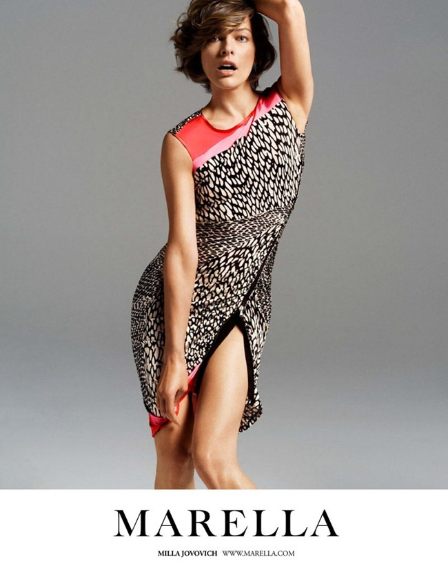 CAMPAIGN- Milla Jovovich for Marella Spring 2012 by Inez & Vinoodh. www.imageamplified.com, Image Amplified9