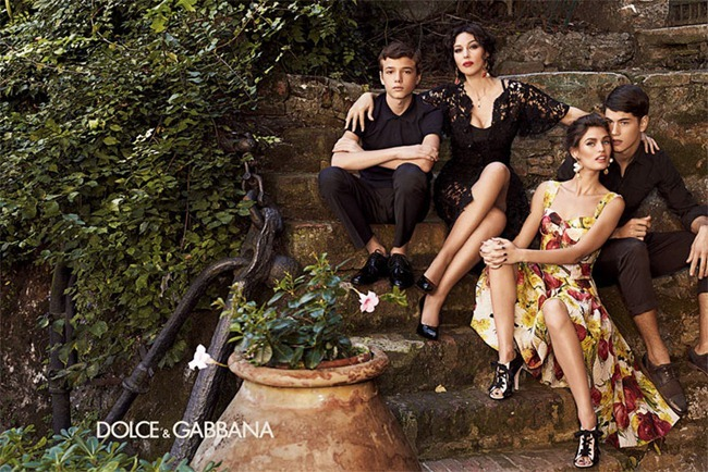 CAMPAIGN- Bianca Balti & Monica Bellucci for Dolce & Gabbana Spring 2012 by Giampaolo Sgura. www.imageamplified.com, Image Amplified0