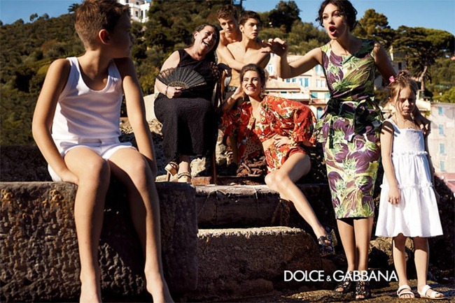 CAMPAIGN- Bianca Balti & Monica Bellucci for Dolce & Gabbana Spring 2012 by Giampaolo Sgura. www.imageamplified.com, Image Amplified1
