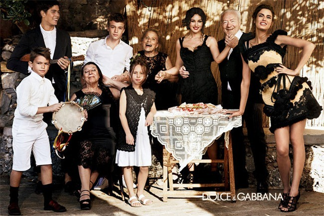 CAMPAIGN- Bianca Balti & Monica Bellucci for Dolce & Gabbana Spring 2012 by Giampaolo Sgura. www.imageamplified.com, Image Amplified2
