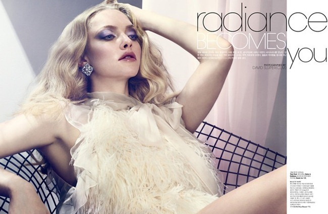 W KOREA- Amanda Seyfried in Radiance Becomes You by David Sl. February 2012, www.imageamplified.com, Image Amplified2