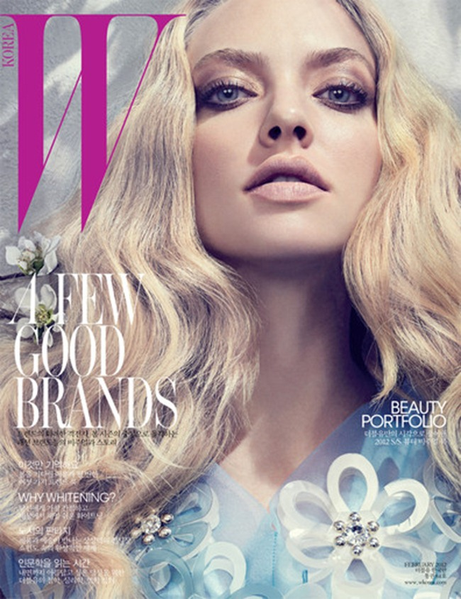 W KOREA- Amanda Seyfried in Radiance Becomes You by David Sl. February 2012, www.imageamplified.com, Image Amplified1