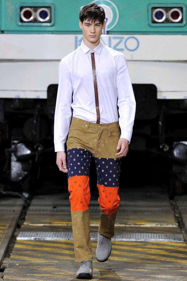 PARIS FASHION WEEK- Kenzo Men's Fall 2012. www.imageamplified.com, Image Amplified1