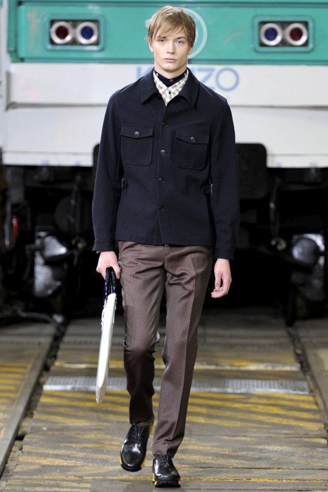 PARIS FASHION WEEK- Kenzo Men's Fall 2012. www.imageamplified.com, Image Amplified2