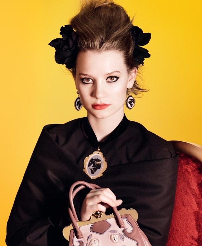 CAMPAIGN Mia Wasikowska for Miu Miu Spring 2012 by David Sims. www.imageamplified.com, Image Amplified (3)