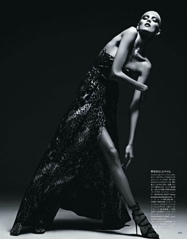 VOGUE JAPAN Anja Rubik in Ecstasy of the Moment by Hedi Slimane. Mika Mizutani, March 2012, www.imageamplified.com, Image Amplified (7)