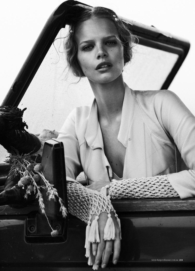 HARPER'S BAZAAR AUSTRALIA Marloes Horst in Wanderlust by Will Davidson. Jillian Davidson, March 2012, www.imageamplified.com, Image Amplified (6)