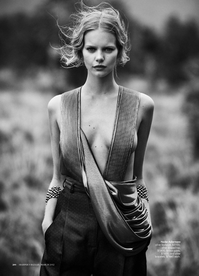 HARPER'S BAZAAR AUSTRALIA Marloes Horst in Wanderlust by Will Davidson. Jillian Davidson, March 2012, www.imageamplified.com, Image Amplified (9)