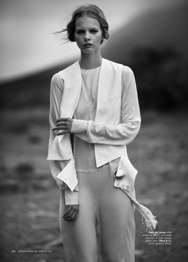 HARPER'S BAZAAR AUSTRALIA Marloes Horst in Wanderlust by Will Davidson. Jillian Davidson, March 2012, www.imageamplified.com, Image Amplified (2)